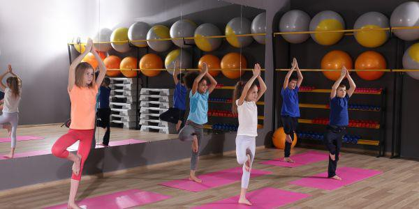 FIT UP PLUS organiseert yoga voor kinderen